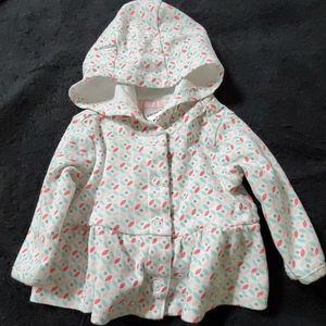 Babys hooded shirt